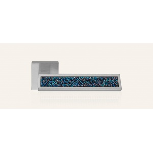 Klamka RIFLESSO Rocks Blue 019 kolor CS chrom matowy
